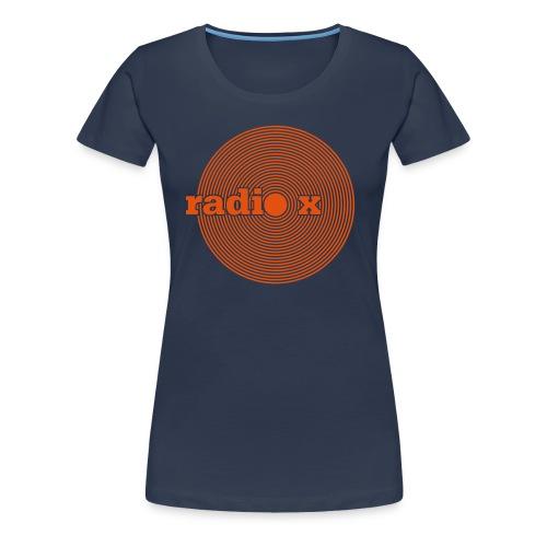 DISC orange - samtig - Frauen Premium T-Shirt
