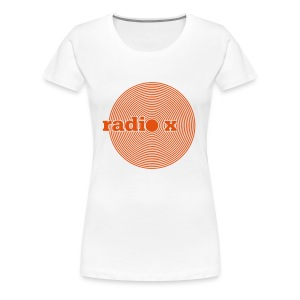 DISC orange - Foliendruck - Frauen Premium T-Shirt