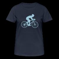 Rennrad Frauen Sport T-Shirt