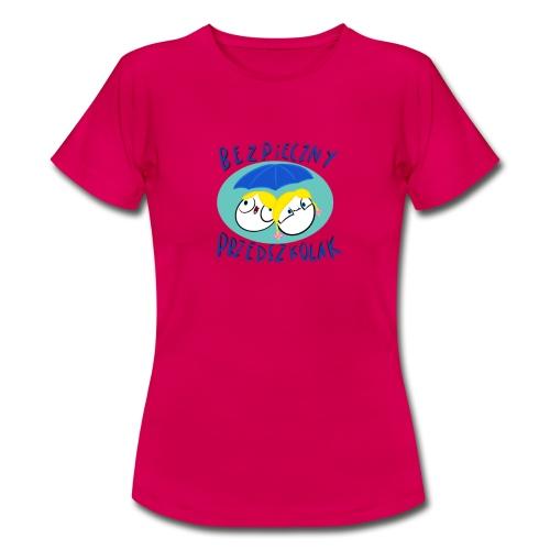 Bezpieczny Przedszkolak Koszulka - Koszulka damska