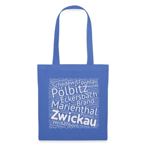 Zwickau Ortsteile - Stoffbeutel