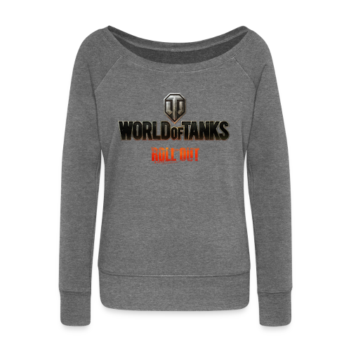 World of Tanks - Roll Out, Women Collection - Women's Boat Neck Long Sleeve Top