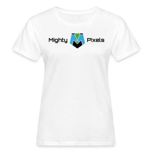Mighty P!xels Shirt - Frauen Bio-T-Shirt