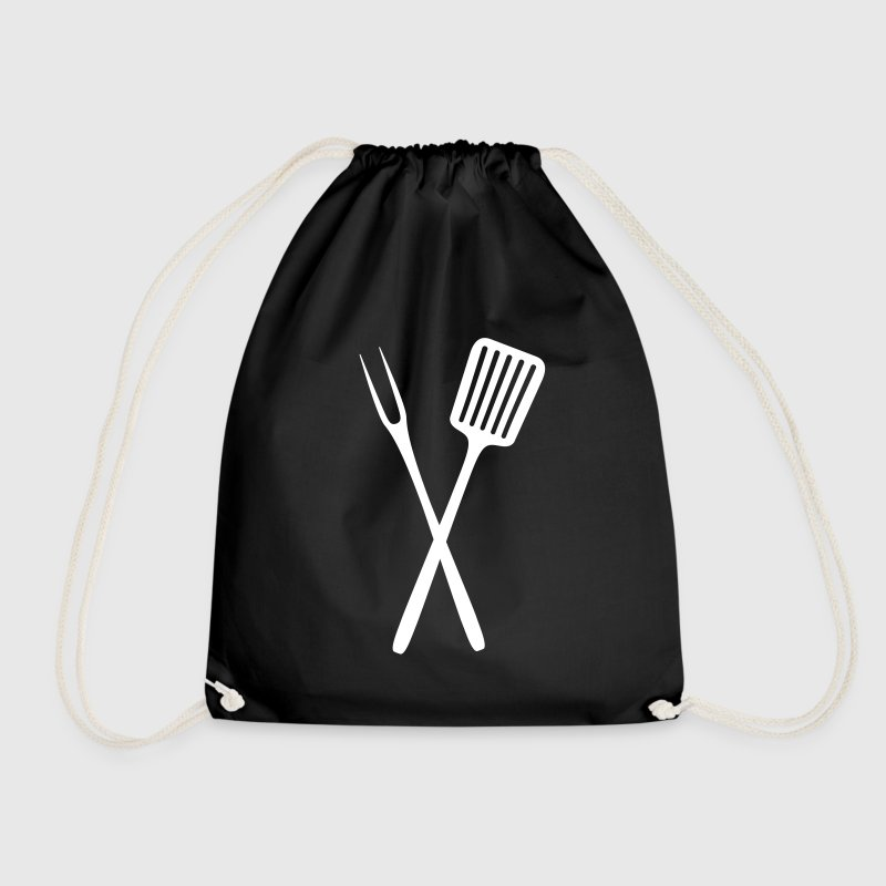 BBQ Tools Bags & Backpacks - Drawstring Bag