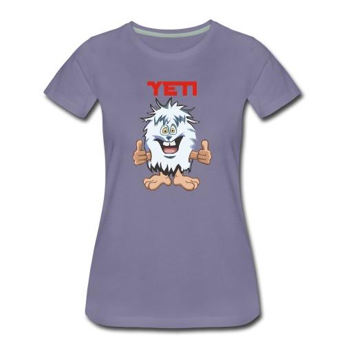 Yeti TS F Premium - T-shirt Premium Femme