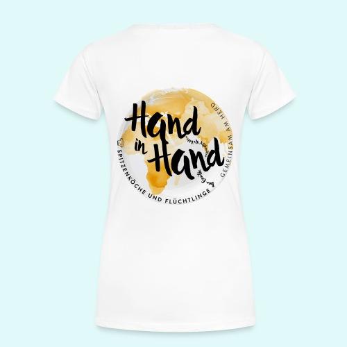Kochen verbindet Welten ... - Frauen Premium T-Shirt