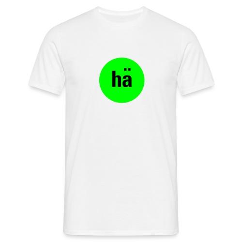 hä, Ms T-Shirt - Männer T-Shirt