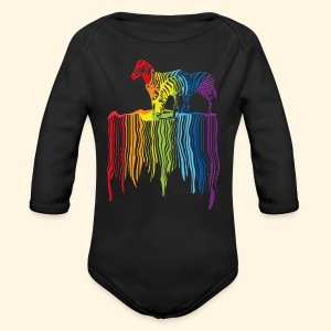 Babybody - Over the Rainbow - Baby Bio-Langarm-Body