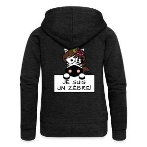 Zèbre, Je Suis Un Zebre Fille Nénuphar