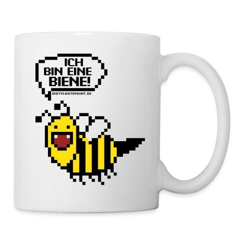 Pixelbiene Tasse - Tasse