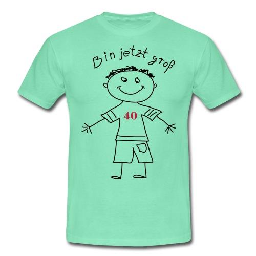 Ich bin groß - Männer T-Shirt