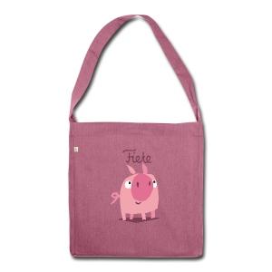 'Piggy' Fiete Casual Bag - plum - Schultertasche aus Recycling-Material