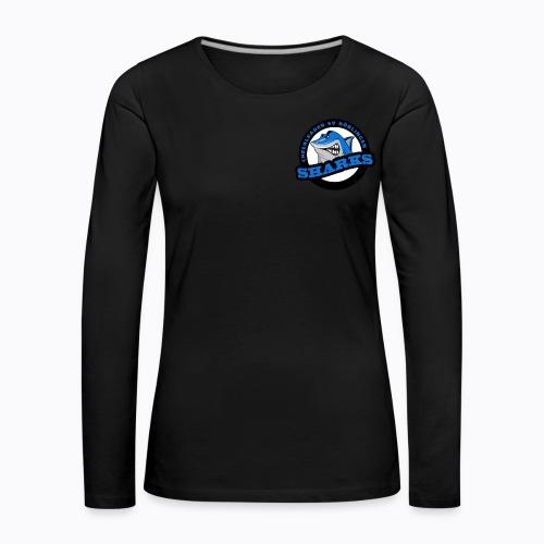 Sharks Cheerleader Böblingen Langarmshirt Damen - Frauen Premium Langarmshirt