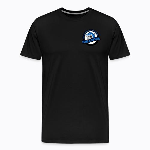 Sharks Cheerleader Böblingen Männer T-Shirt Rundhals - Männer Premium T-Shirt