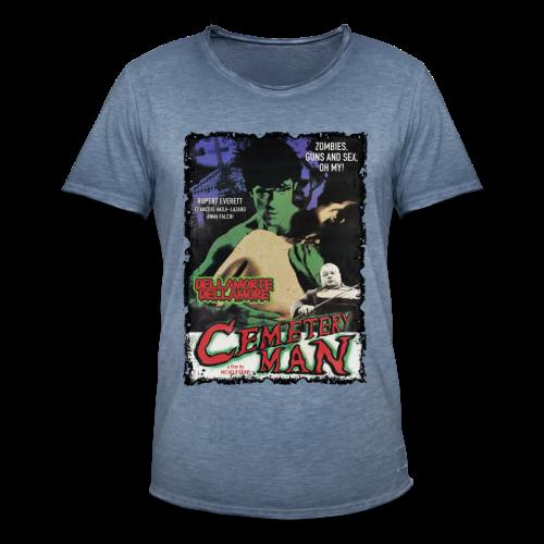 CEMETERY MAN - Männer Vintage T-Shirt - Männer Vintage T-Shirt