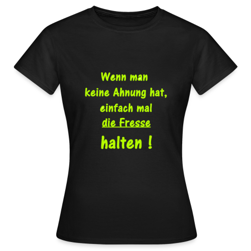 T-Shirt Frauen - Frauen T-Shirt
