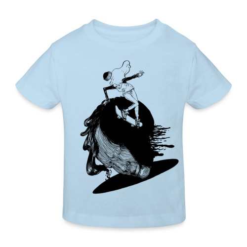 Girlz Shred! - Kids' Organic T-shirt