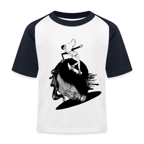 Girlz Shred! - Kids' Baseball T-Shirt