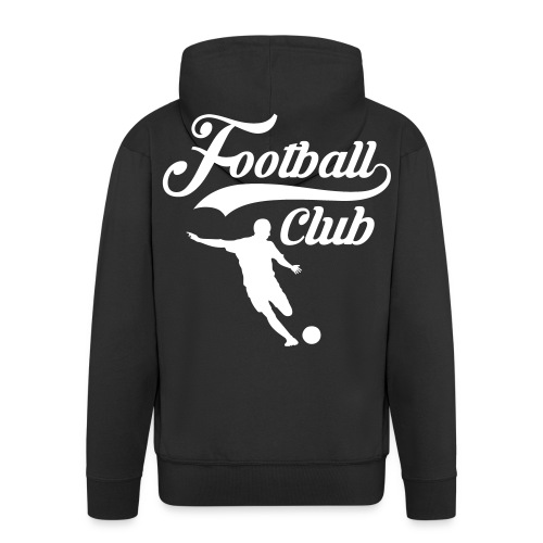 Football Club - Men's Premium Hooded Jacket