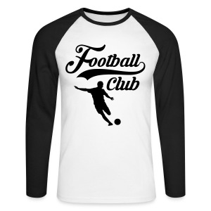 Football Club - Men's Long Sleeve Baseball T-Shirt