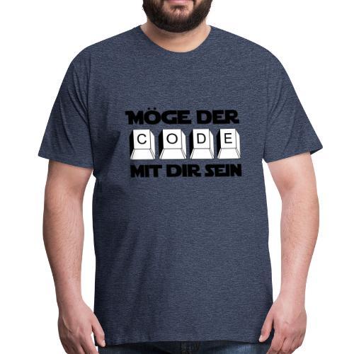 Code der Macht - Männer Premium T-Shirt