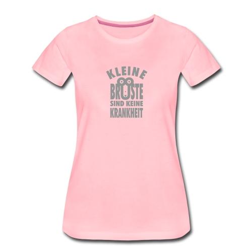 Kleine Brüste Shirt Damen, alle Farben - Frauen Premium T-Shirt