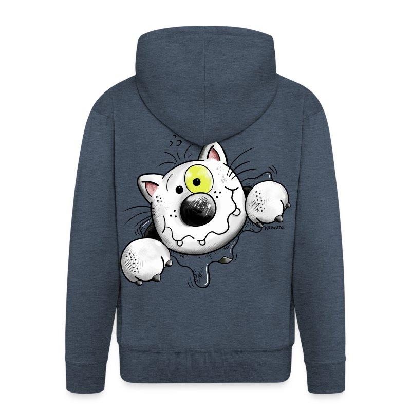 Felpa con pazzo gatto spreadshirt for Felpa con marsupio porta gatto