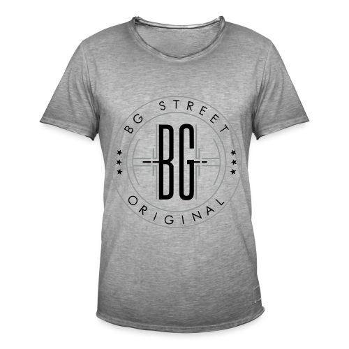 T Shirt Vintage BG Street - T-shirt vintage Homme