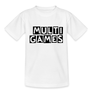 Kinderen t-shirt Multi Games zwart - Teenager T-shirt