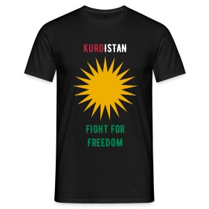 Kurdistan - Fight for Freedom - Männer T-Shirt