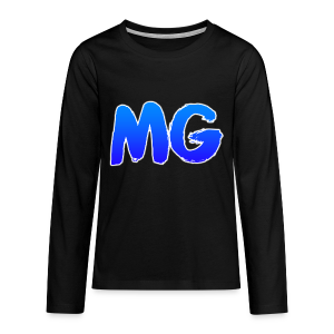 Kinderen lange mouwen shirt MG - Teenager Premium shirt met lange mouwen