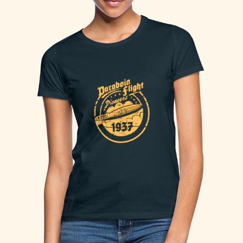 Parabola Flight Pioneers of `37 - Frauen T-Shirt
