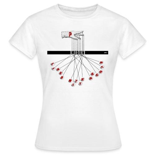 Wer schreibt die Drehbücher? - Frauen T-Shirt