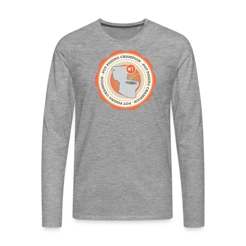 Pot P#ssing Champion Long Sleeve - Mannen Premium shirt met lange mouwen