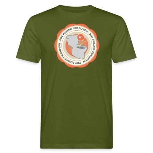 Pot P#ssing Champion T-Shirt - Mannen Bio-T-shirt
