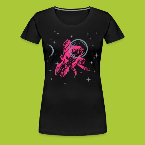 Fisch im All - FLEX - Frauen Premium T-Shirt