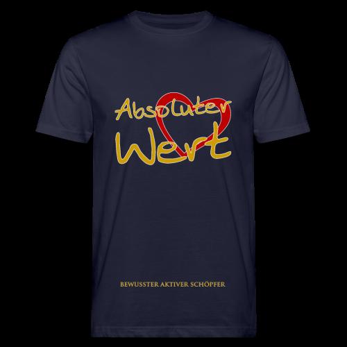 Absoluter Wert - Männer Bio-T-Shirt