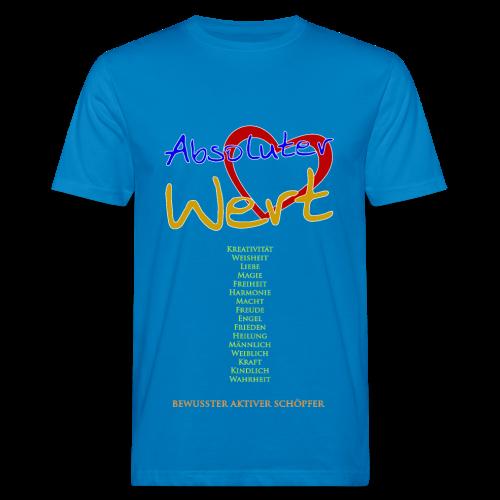 Absoluter Wert + Aspekte - Männer Bio-T-Shirt