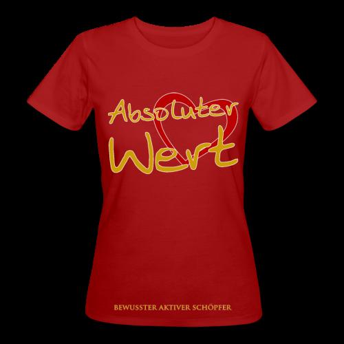 Absoluter Wert - Woman - Frauen Bio-T-Shirt