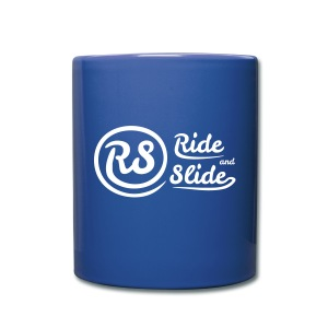 Mug blue RS white - Tasse en couleur