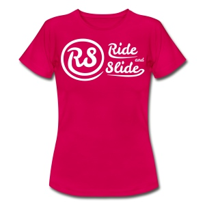 T-shirt pink RS white women - T-shirt Femme