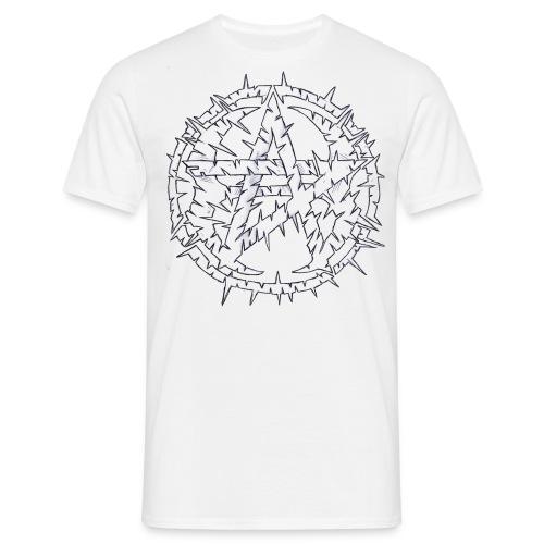 AH White - T-shirt herr