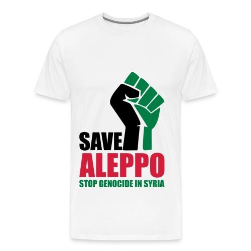 SAVE ALEPPO - Men's Premium T-Shirt