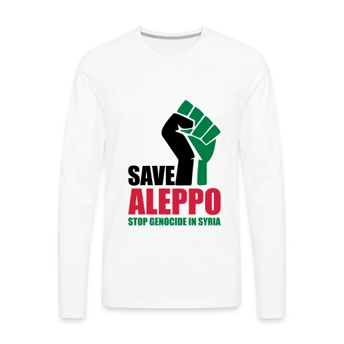 SAVE ALEPPO - Men's Premium Longsleeve Shirt