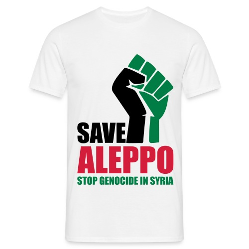 SAVE ALEPPO - Men's T-Shirt