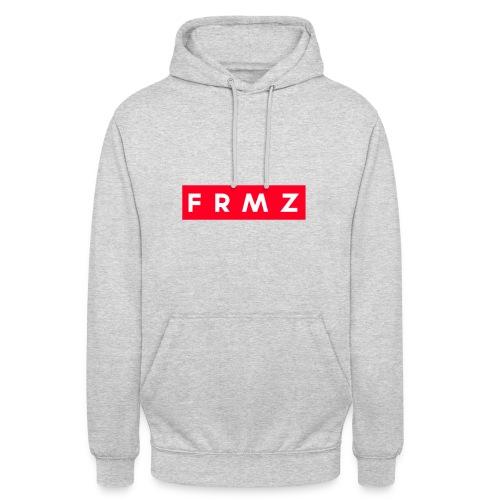 FRMZ Hoodie / Hinten mit Aufdruck - Unisex Hoodie