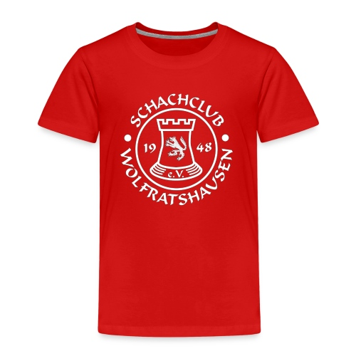 Kinder Premium T-Shirt Rot - Kinder Premium T-Shirt