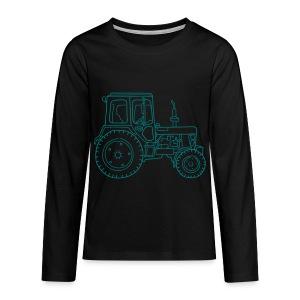 Traktor - Teenager Premium Langarmshirt