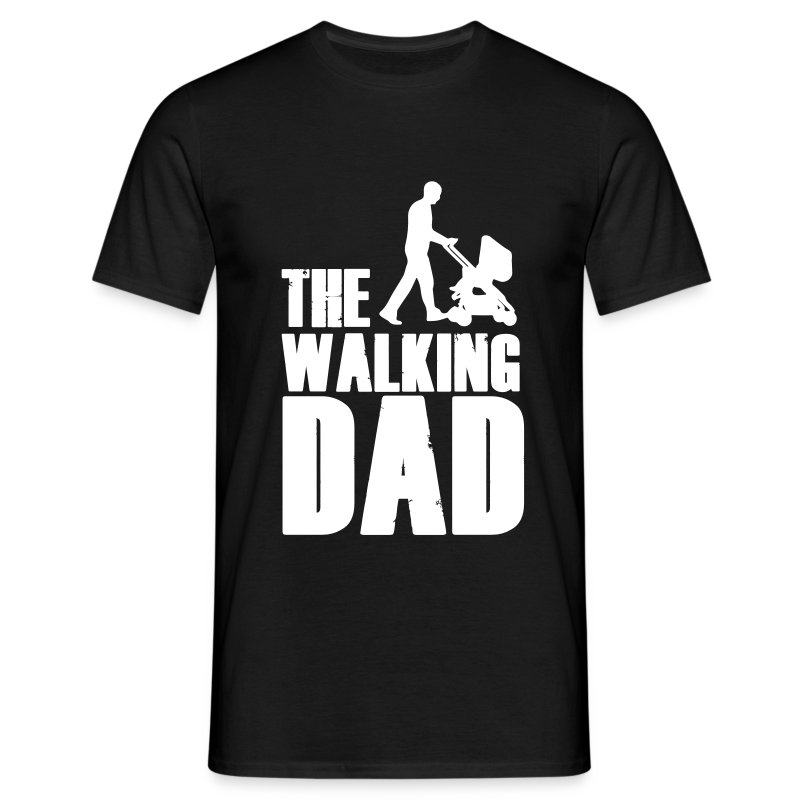 the walking dad t shirt spreadshirt. Black Bedroom Furniture Sets. Home Design Ideas