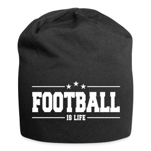 football is life 1 Caps & Hats - Jersey Beanie
